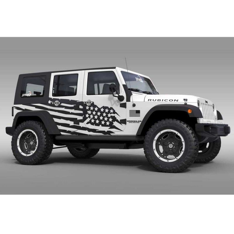 10 Off Usa Decals Jeep Wrangler Unlimited Jeep Wrangler Jeep Gear