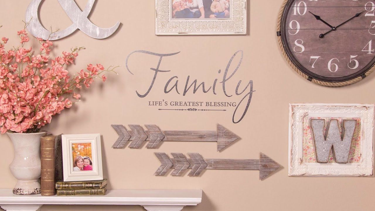 How to apply wall vinyl youtube diy wall decals wall