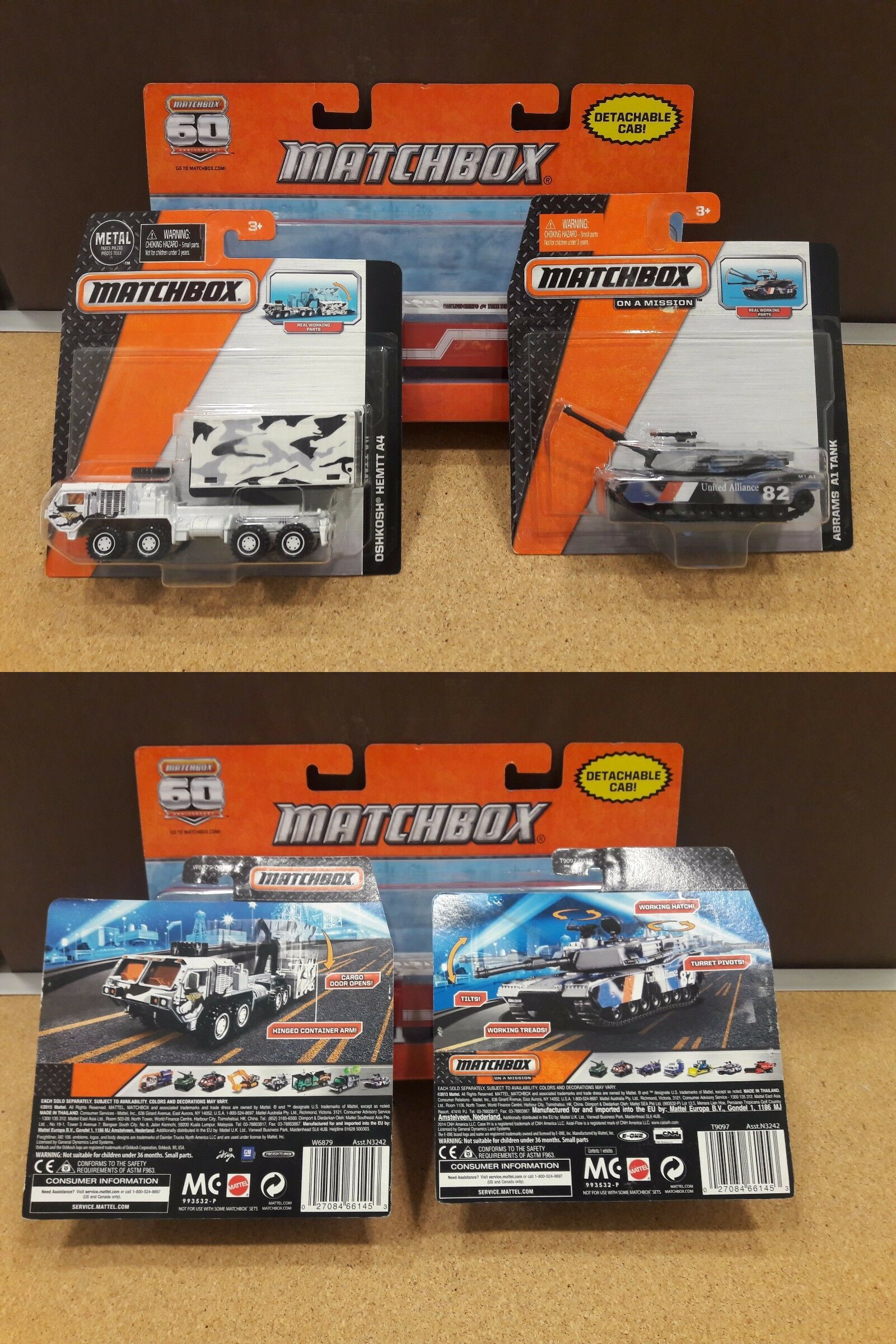 Wholesale Lots 40149: Matchbox Real Working Rig Parts Brand