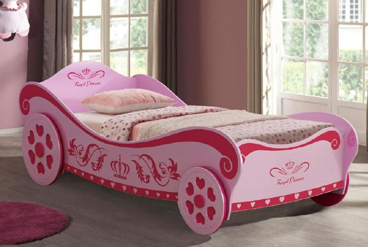 Charlotte Car Bed Pink