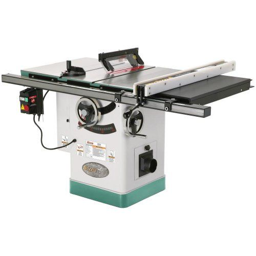 Grizzly G0690 10 3hp 220v Cabinet Table Saw With Riving Knife Every Part Of This Saw Says Quality Performance From Its Heavy Ca Tischsage Hering Werkstatt