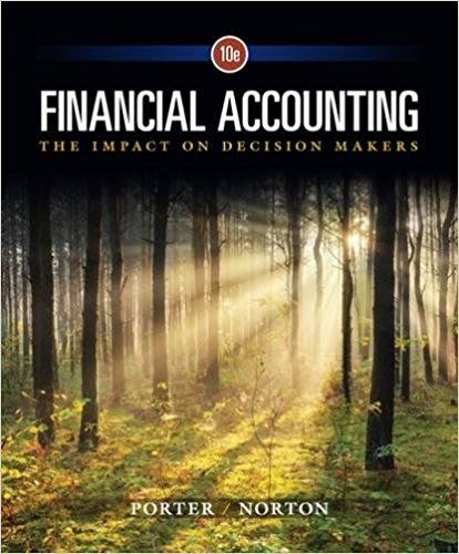 Financial accounting the impact on decision makers 10th edition financial accounting the impact on decision makers 10th edition porter solutions manual test banks solutions fandeluxe Gallery