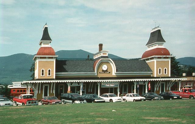 Great Railroad Stations North Conway Nh North Conway Scenic Railroads Conway New Hampshire