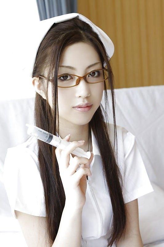 You hard Hot sexy asian nurse was