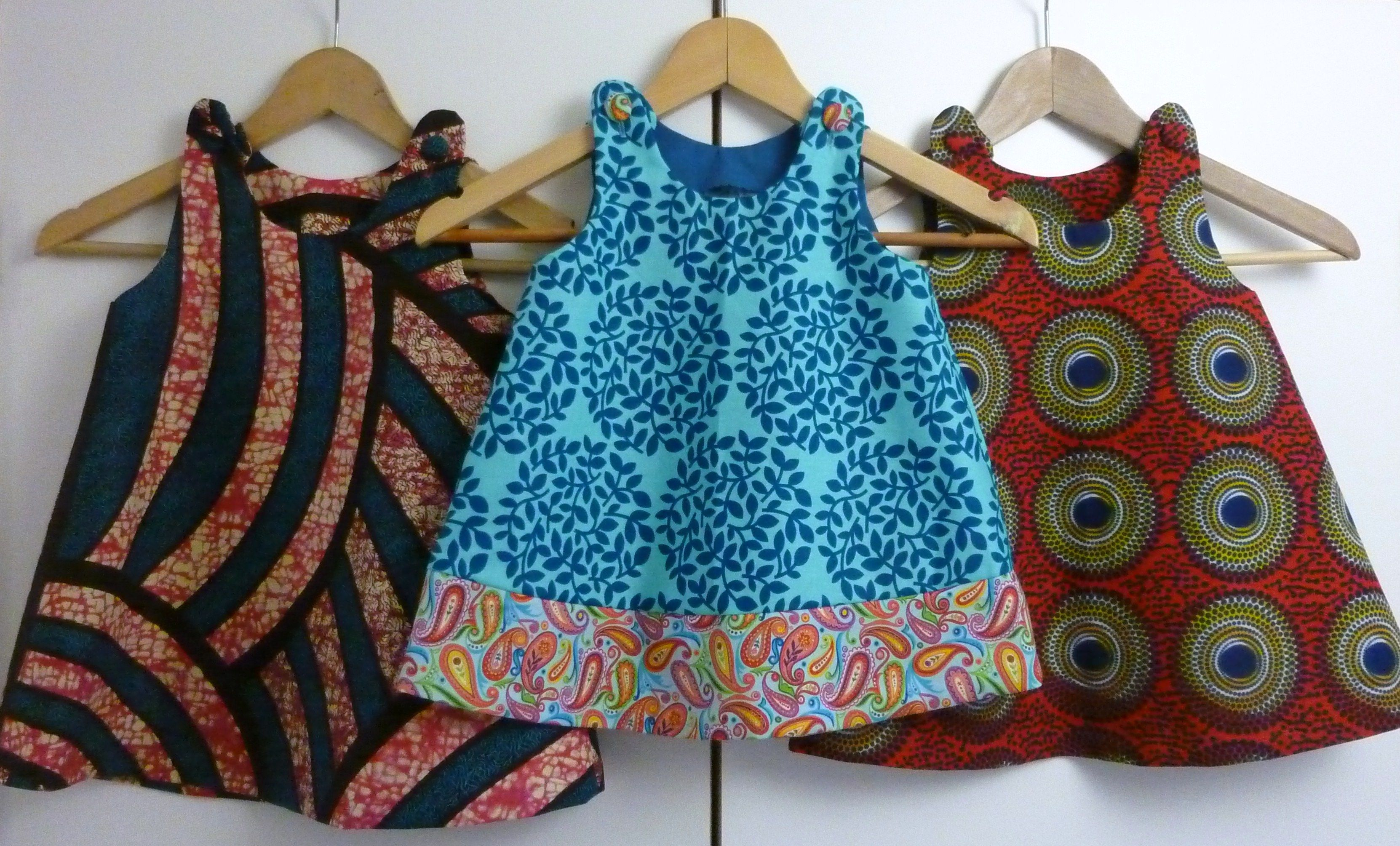 Little girls in African print – Dresses for sale on http ...