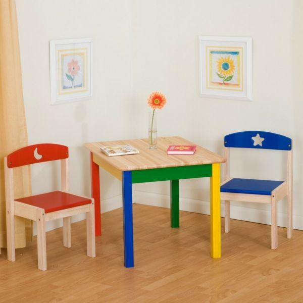 tisch mit stuhlen kinderzimmer einrichten kindermabel sta 1 4 hle kindermobel