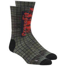 4c083efd635 Reebok - Reebok CrossFit Printed Crew Sock