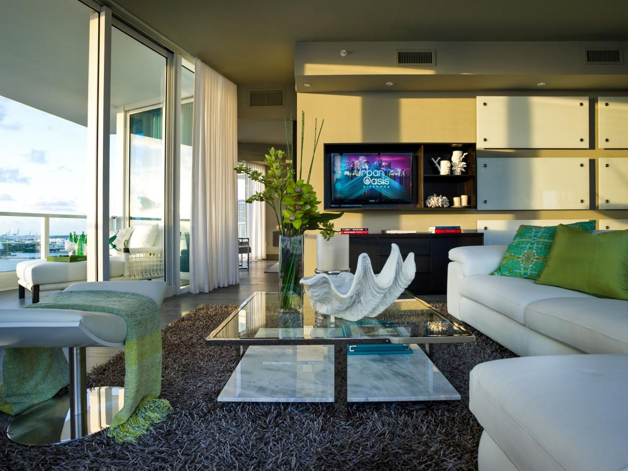 Vote On Your Favorite HGTV Urban Oasis Living Room, From 2010 To 2015.
