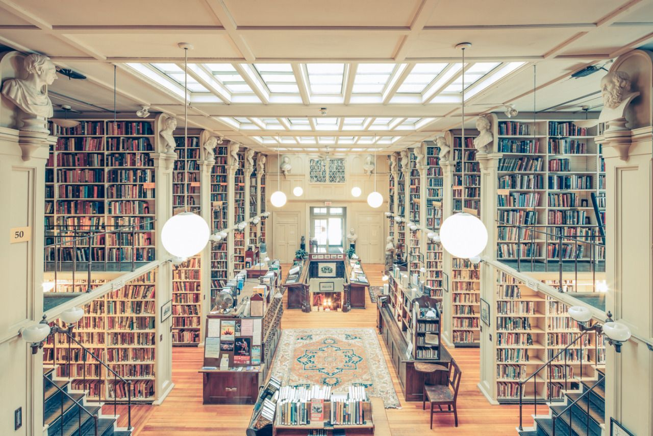 The Providence Athenaeum Library Rhode Island Photographed By Franck Bohbot Via Reddit MORE