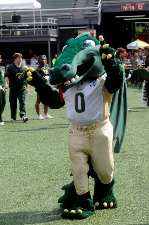 University Of Alabama Birmingham Blazers Mascot The Blaze Uab