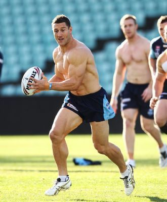 Luke O'Donnell - Damn. There has got to get some kind of plot to get all the ridiculously good looking men playing rugby.