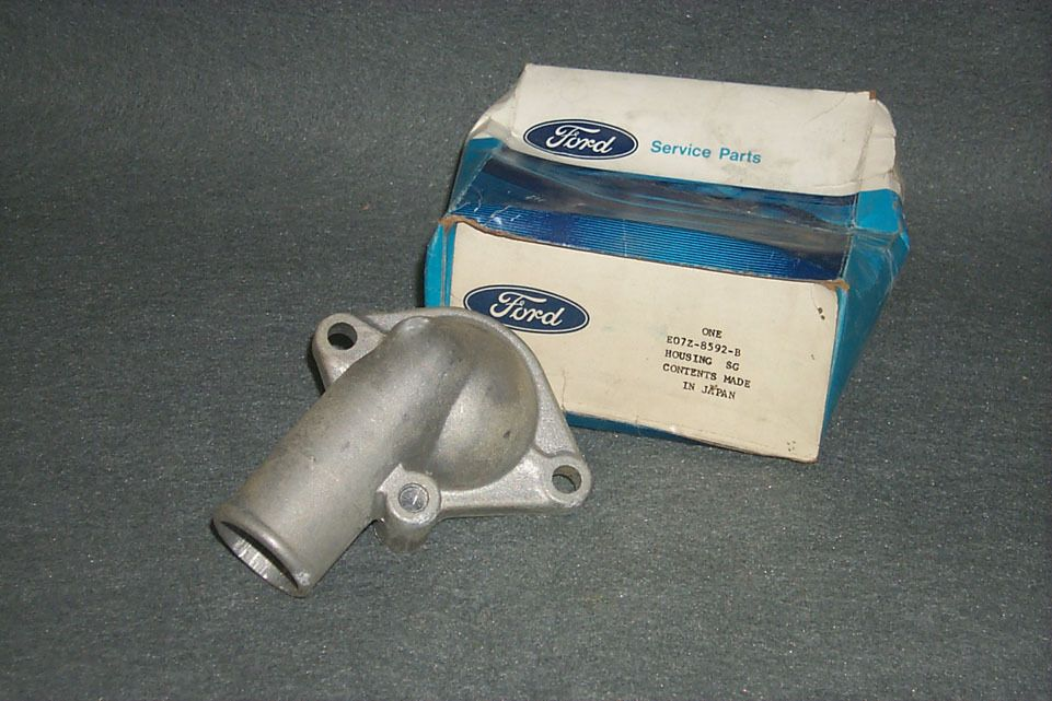 Nos Thermostat Housing 1980 1981 1982 Ford Courier Pickup Truck 121 2000 Cc 2 0l Ford Courier Pickup Trucks Cars Trucks
