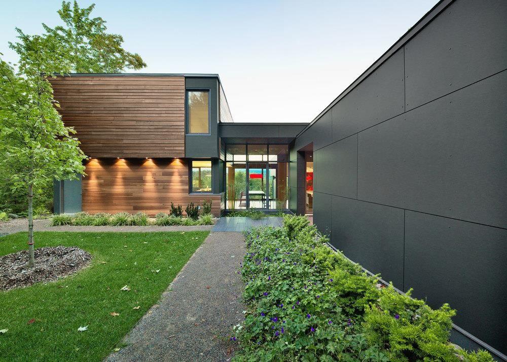 habillage cl ture avec panneaux de fibrociment cl tures palissades pinterest fibrociment. Black Bedroom Furniture Sets. Home Design Ideas
