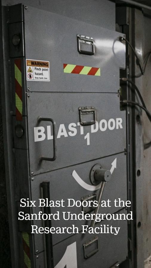Blast Doors by Electric Power Door