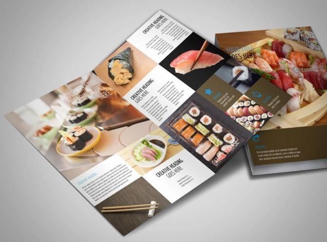 Sushi restaurant bi fold brochure template 3g 670495 sushi restaurant bi fold brochure template 3g 670495 pronofoot35fo Gallery