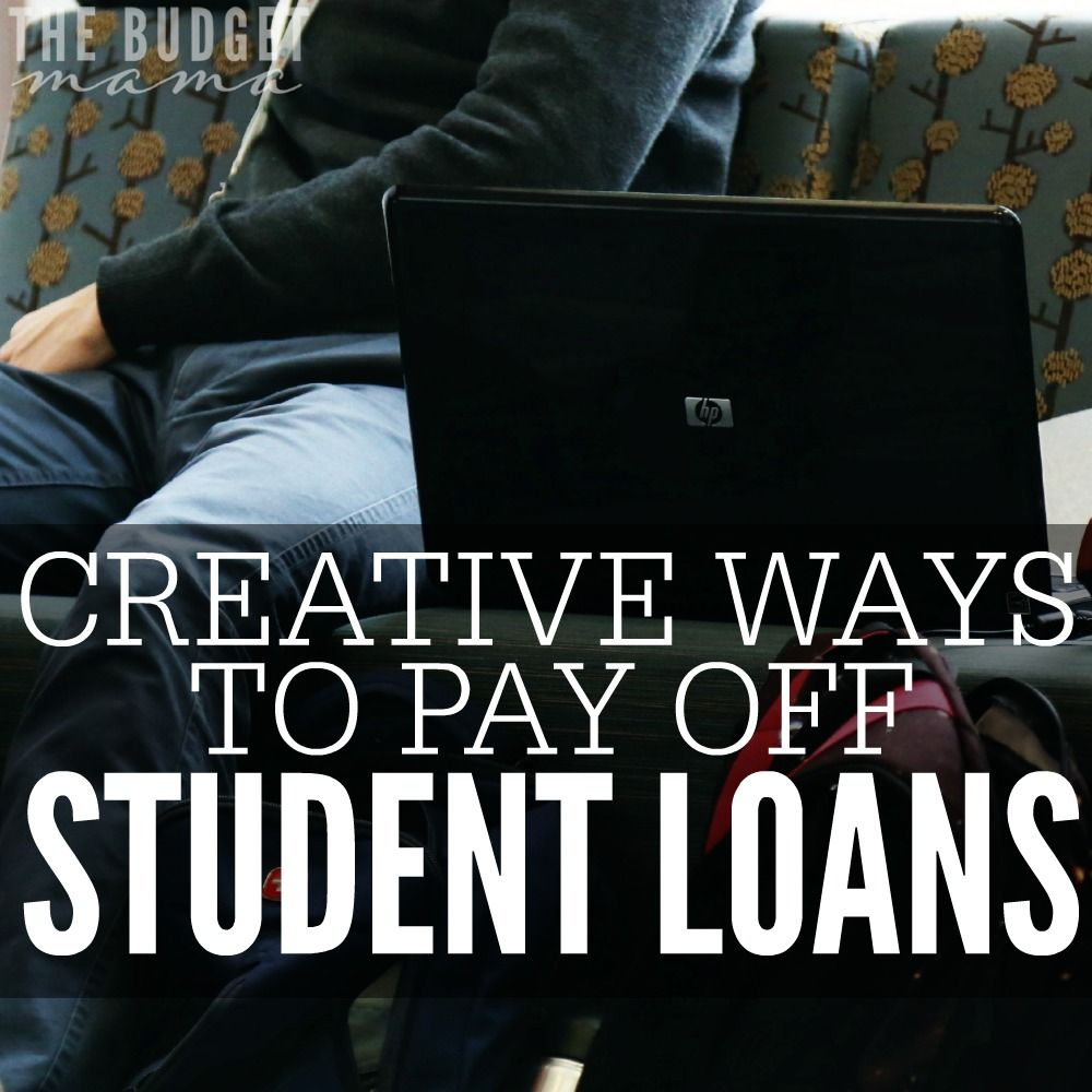 Creative Ways to Pay Off Student Loans Paying off