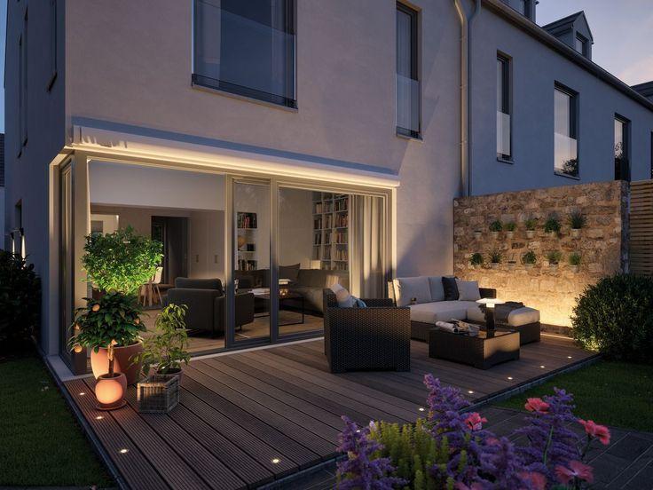 Die Terrasse Wird Zum Outdoor Wohnzimmer Mit Dem Plug Shine System Konnt Ihr 2019 Die Terrasse Wir Outdoor Living Room Outdoor Living Outdoor Living Rooms
