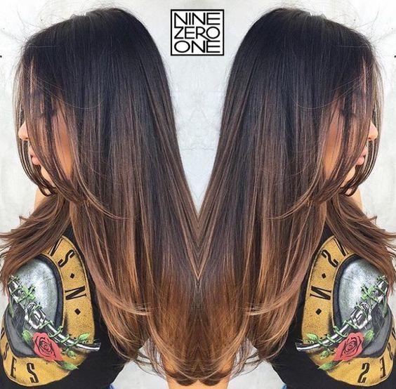 e5162974c1d Mechas Balayage Beigs #mechas #cabello #hermoso 1000 Ideas About Jwoww Hair  On Pinterest: Los Mejores Tonos De Mechas Balayage Para Morenas