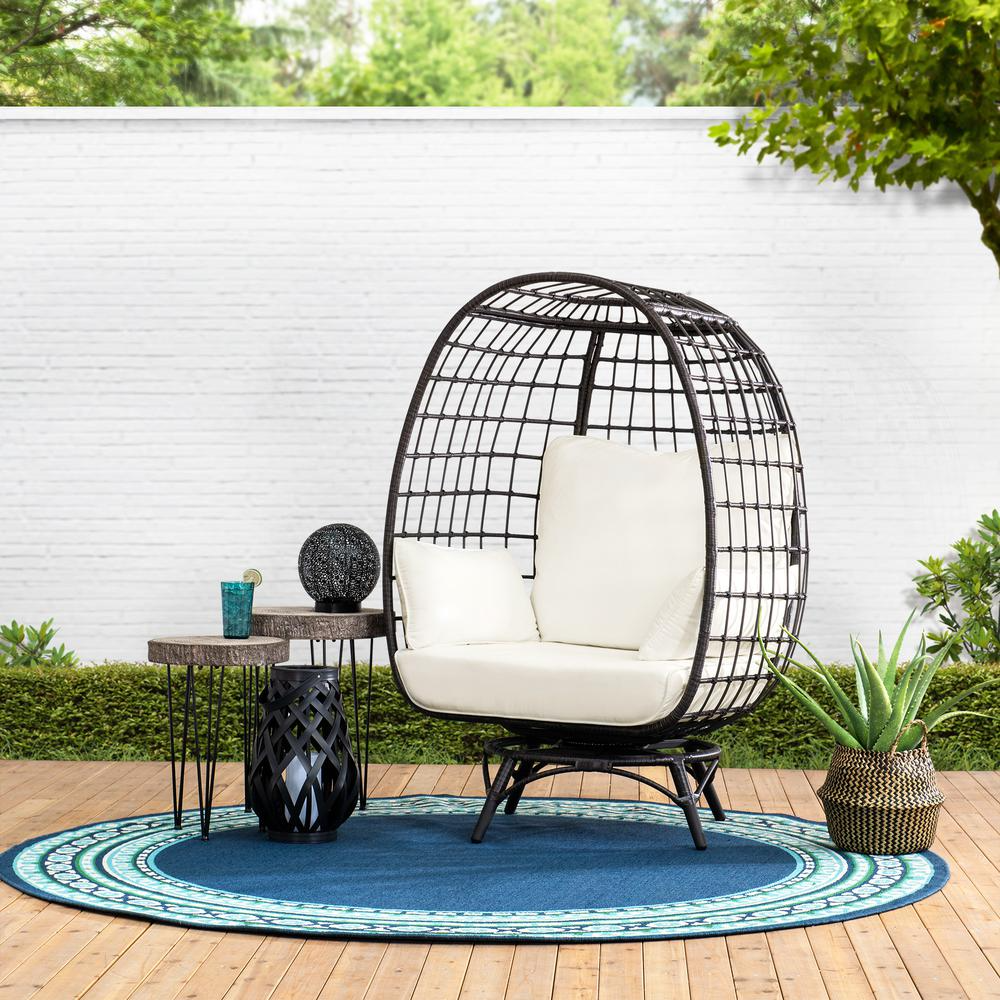 Sunjoy Swivel Egg Cuddle Chair in 2020