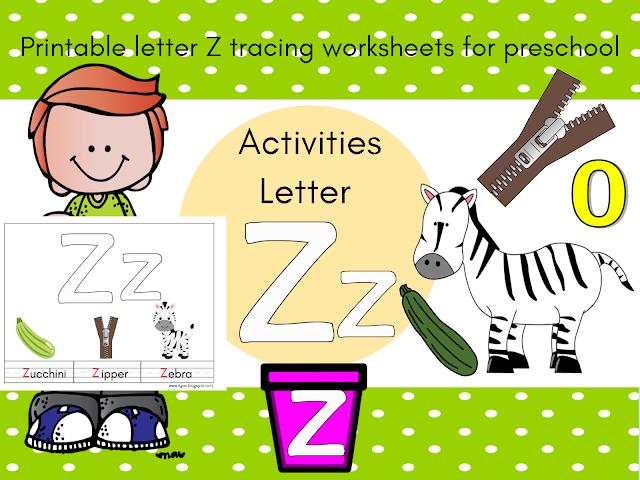 تعليم الحروف الانجليزية للاطفال Pdf حرف Z Preschool Activities Printable Letters Tracing Worksheets