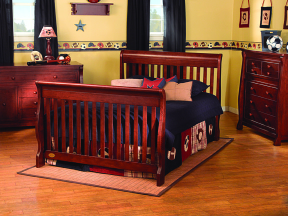 Simplicity Ellis 4-in-1 Convertible Crib | For the Home | Pinterest