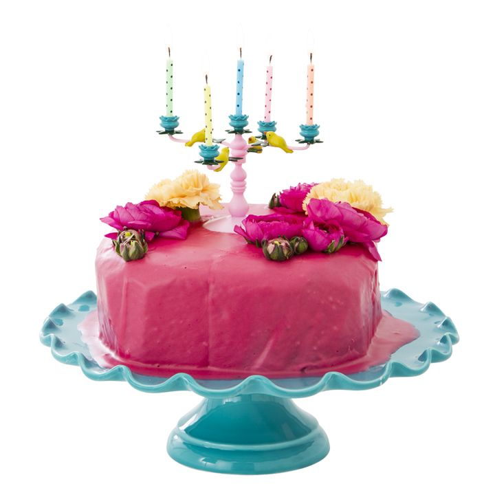 Rice Dk Candelabra Cake Decoration By