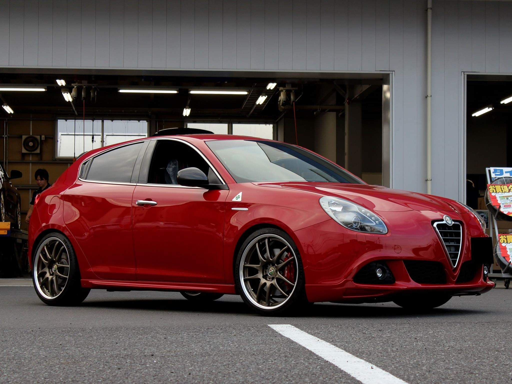 alfaromeo giulietta work emotion CR2P