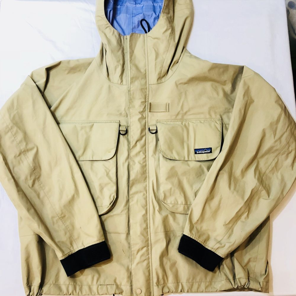 77cef4c79 Details about Patagonia Men's Softshell DWR Fishing Jacket Size ...