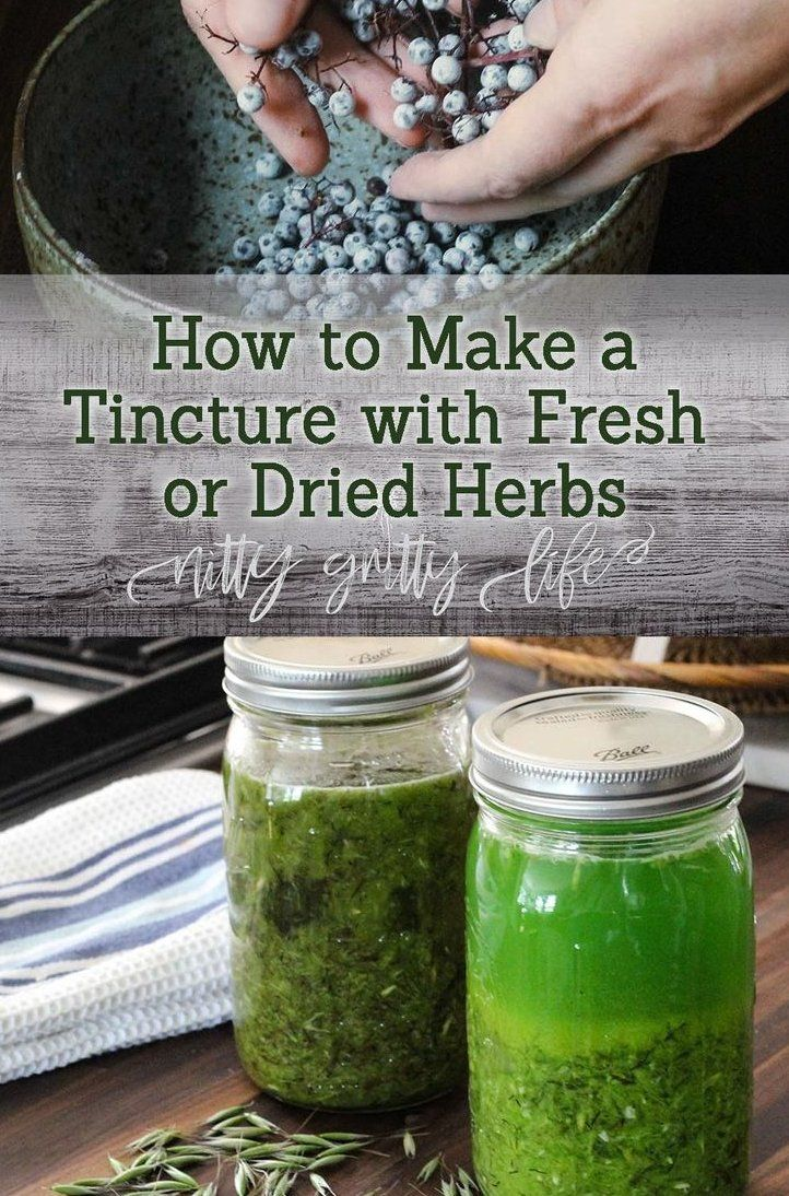 Learn How To Make A Tinctures Without Overthinking It Make