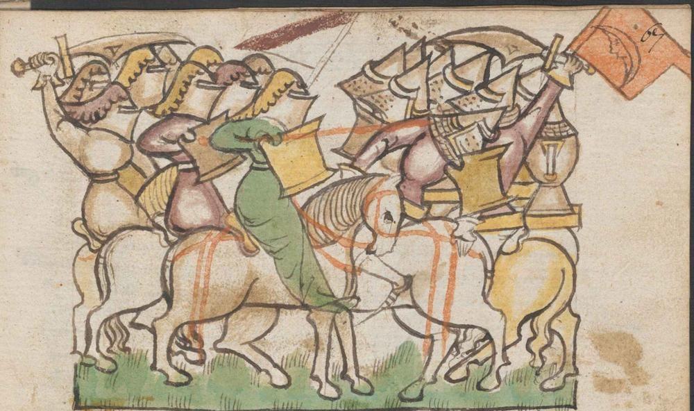 ONB Han. Cod. 2915 Historia belli Troiani soluto sermone scripta Date: 1390 Location: Germany