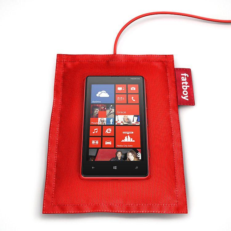 Nokian design-tiimi teki jotain oikein, Fatboy-lataustyyny! (linkki englanniksi)
