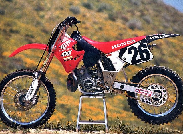 Honda Of Troy >> Todd Dehoop S 1994 Honda Of Troy Cr250r Nothing But 2 Strokes