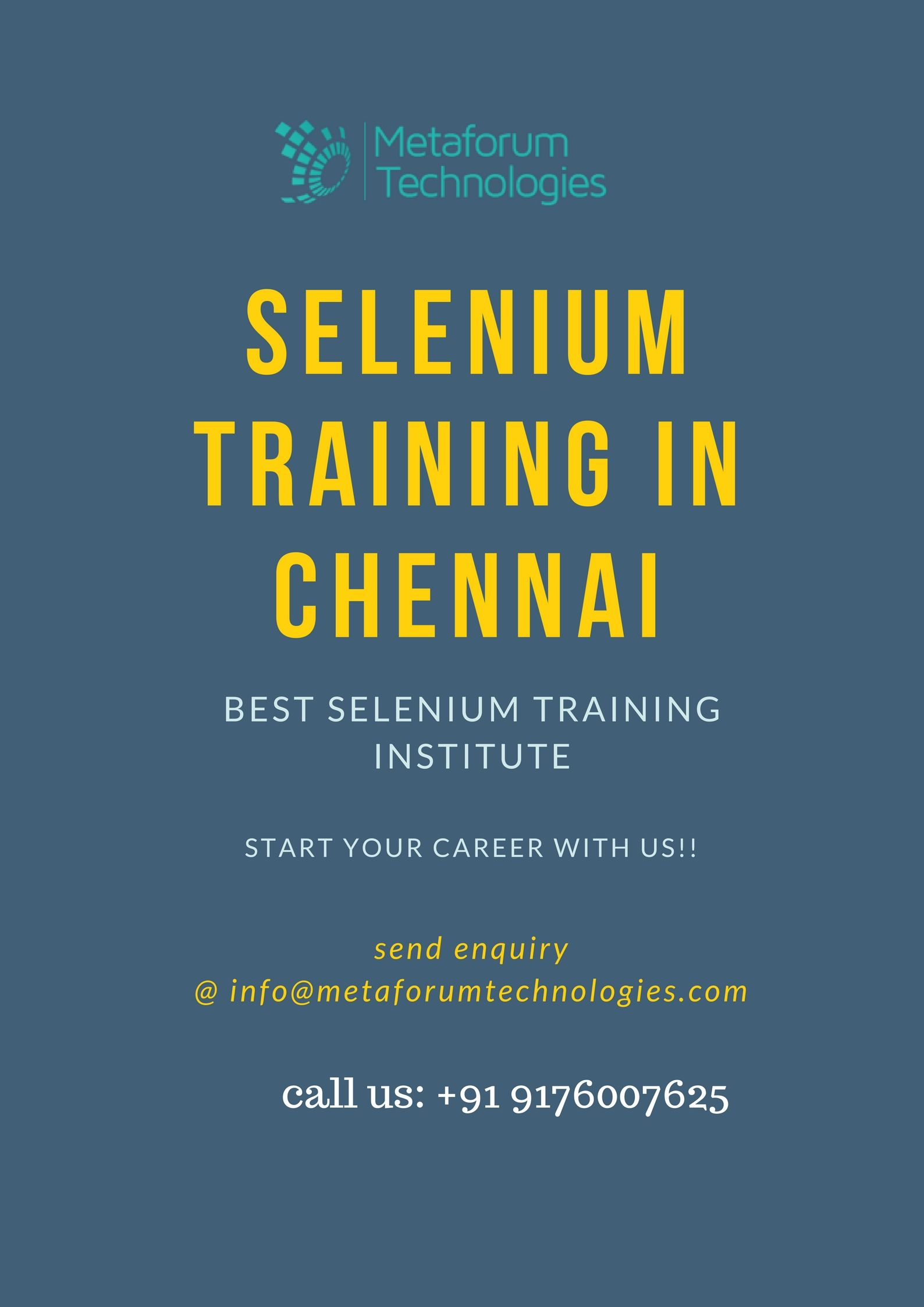 Learn Automation Testing We Are The Best Provider Of Selenium Training In Chennai Selenium Train Learning
