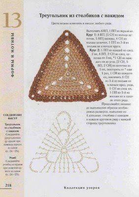 Croche maravilha de arte: Bolsa ...triangulos