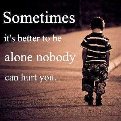 Sad poems about being alone pictures