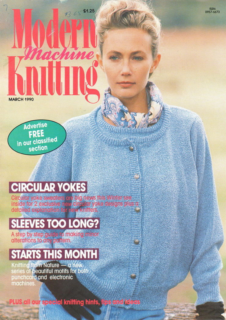 Modern Machine Knitting Magazine 199003 Free Pdf Download 300dpi