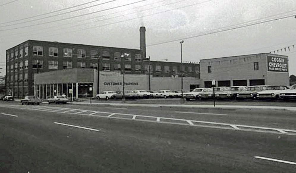 1968 Coggin Chevrolet Dealership, Nashville, Tennessee