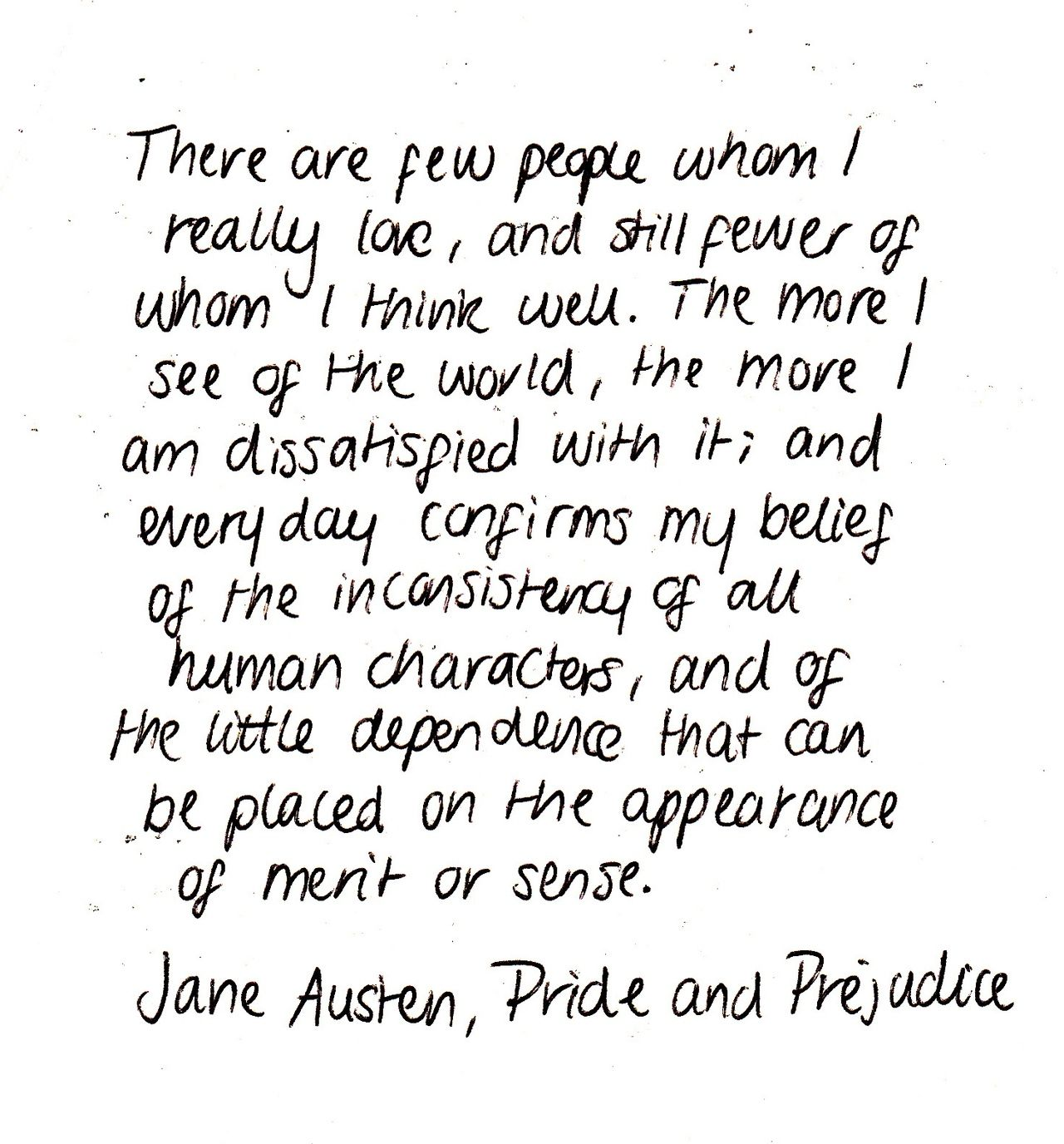 Love Quotes From Pride And Prejudice By Jane Austen