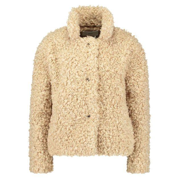 8458fa3b8e4330 CLOSED Jacke  Teddy  in Schaffell-Optik - Konen München Onlineshop ...