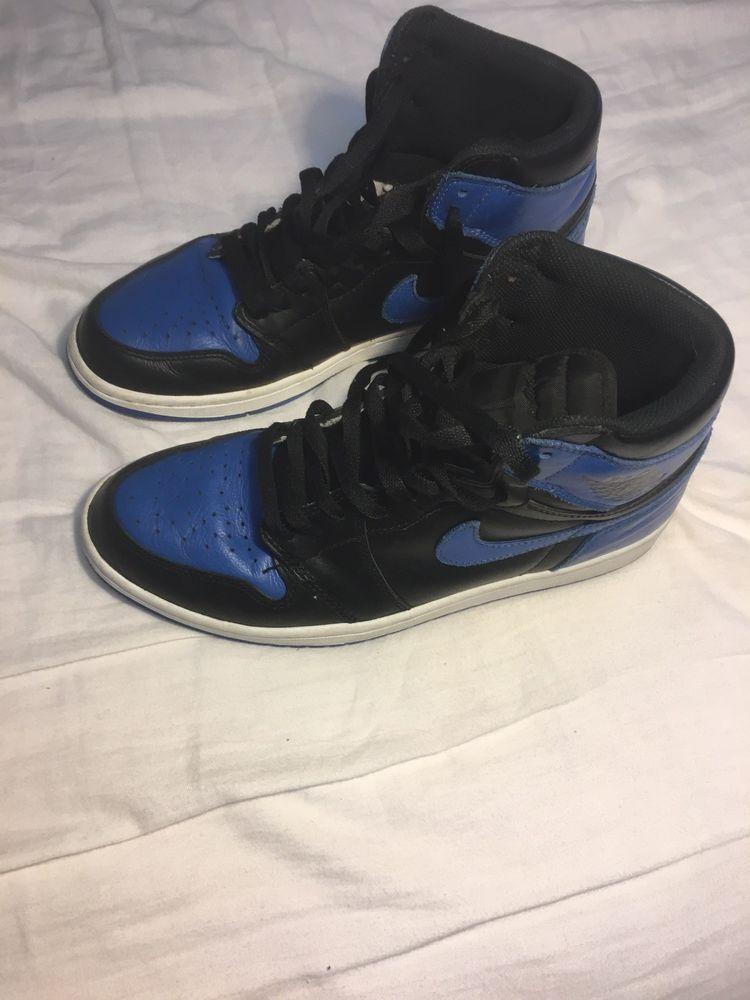 2017 Nike Air Jordan 1 Nike Retro High Og Royal Blue Ebay Link Nike Air Jordan 1 Royal Blue High Retro Og 2017 Mens Size 10 Fashion Clothing Shoes Accessories Men Jordan 1 Royal Air Jordans Nike Air Jordan