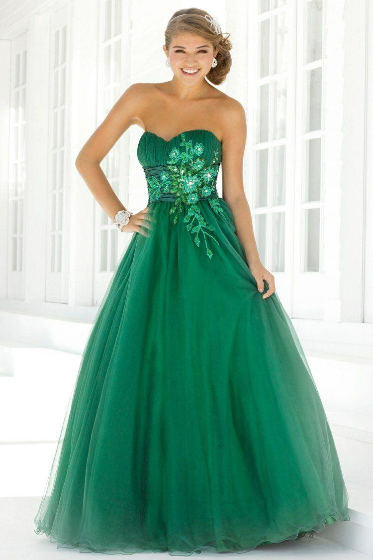 Robe bal de promo en 55 id es de couleurs coupes et tissus robe bal bal de promo et vert - Robe de promo ...