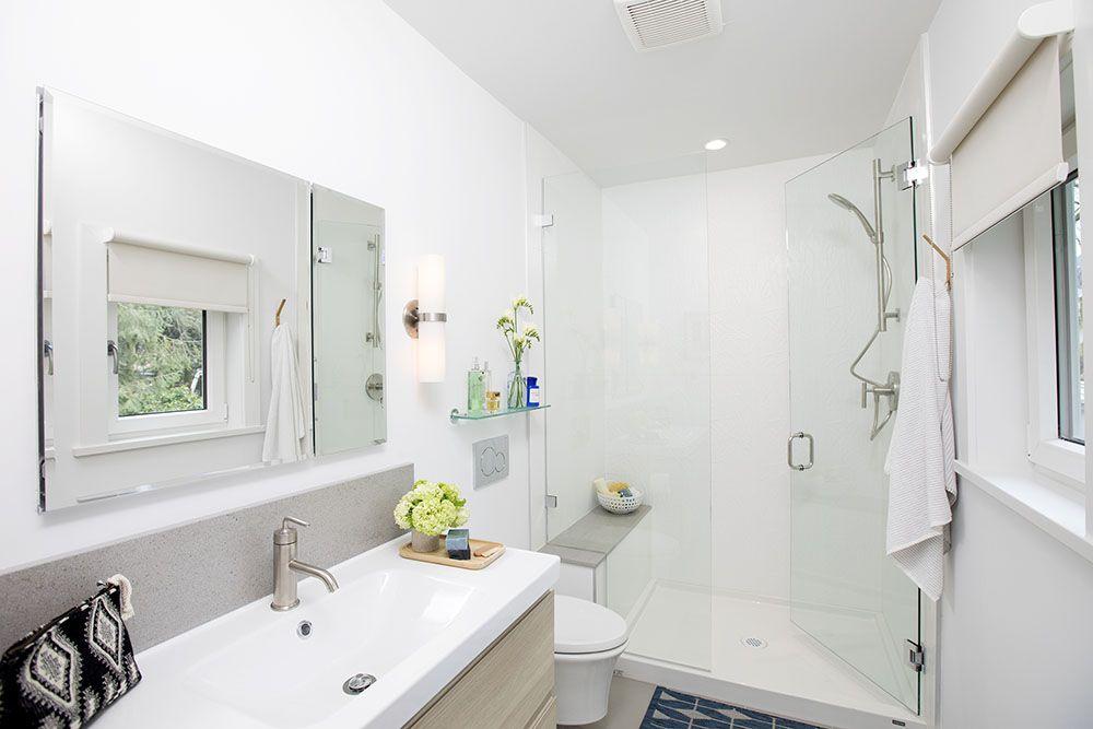 Love It Or List It Vancouver Kelly Gene Jillian Harris Basement Bathroom Remodeling Basement Bathroom Design Jillian Harris
