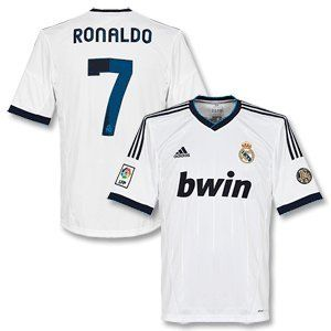 23a19e79e 12-13 Real Madrid Home Jersey + Ronaldo 7 by adidas. $37.99 | Sports ...
