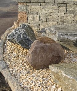 Pearl Pebble In Garden Area Decorative Gravel Offers An 400 x 300