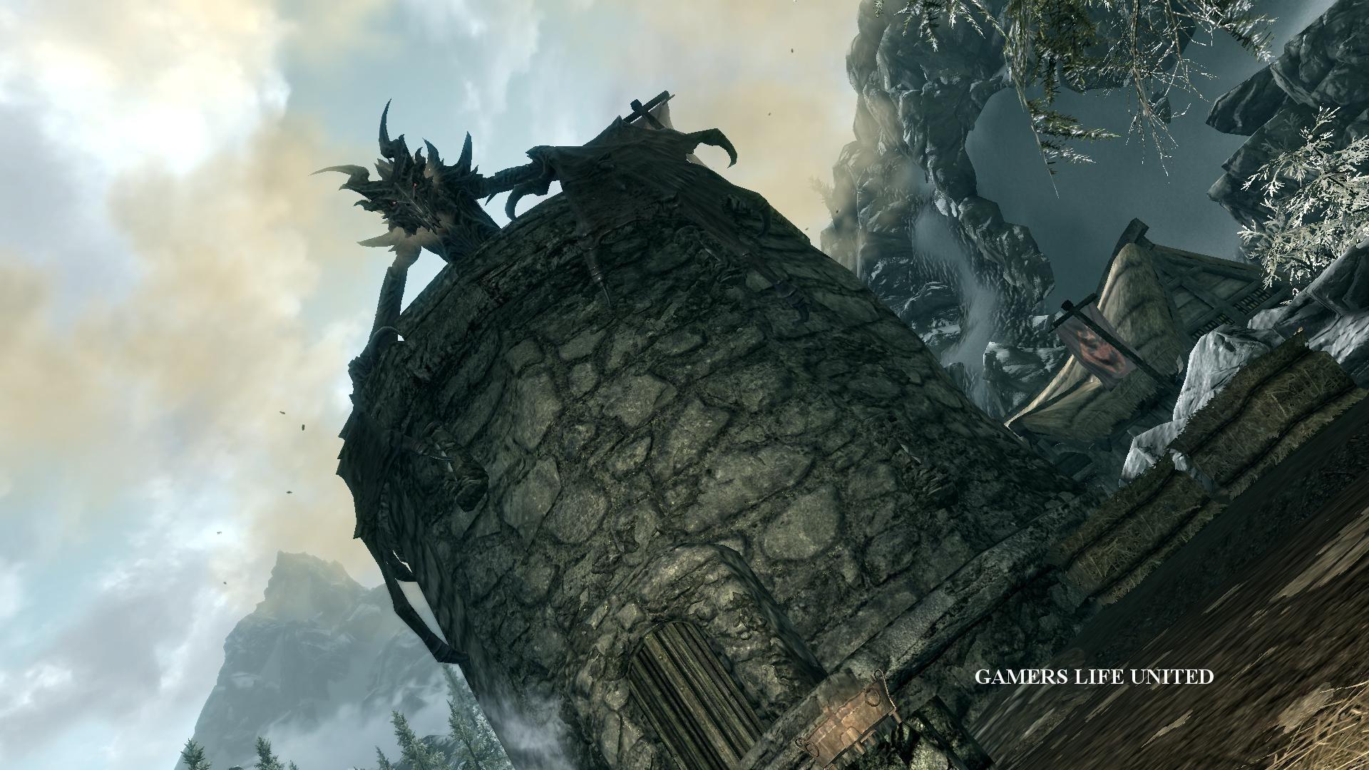 The Elder Scrolls V Skyrim Alduin Dragonborn Wallpapers HD