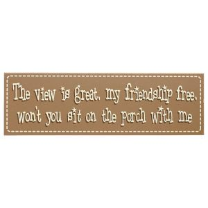 Porch Sign - Kitchen products, Home Décor, Apparel, Gardening and more | Country Store