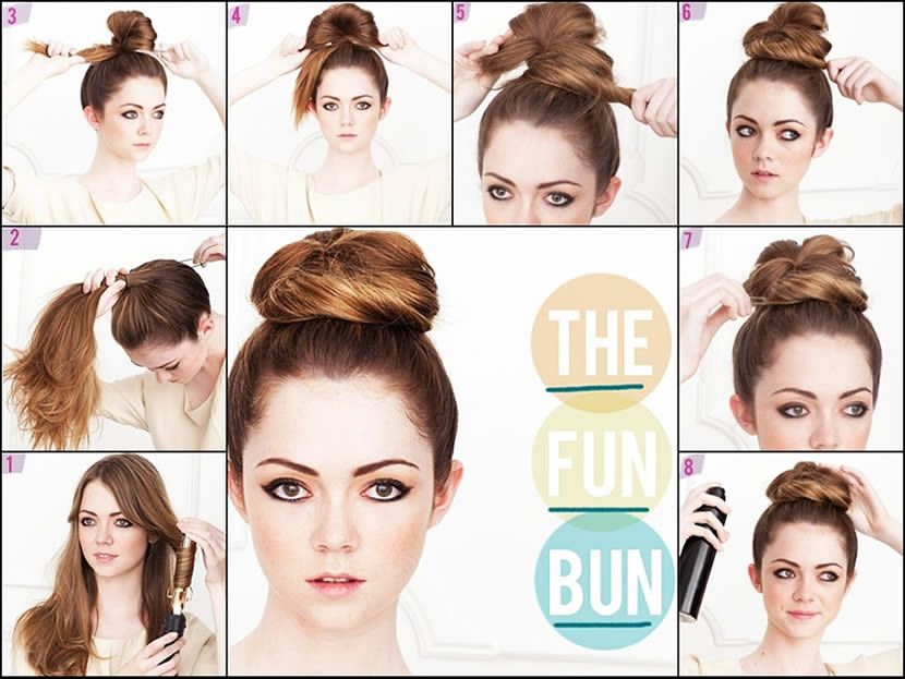 Hairstyle Tutorials 1920s hairstyle tutorial Top Bun Formal Hairstyle Tutorial