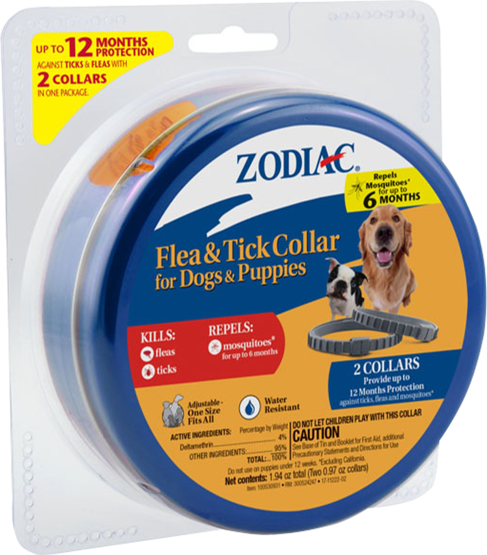 Farnam Pet Zodiac Flea Tick Collar For Dog And Puppies Dogs Puppies Flea Tick Puppies