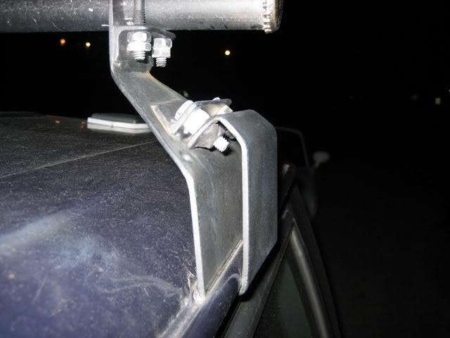 Homebrewed Gutter Mount Roof Rack Jeepforumcom