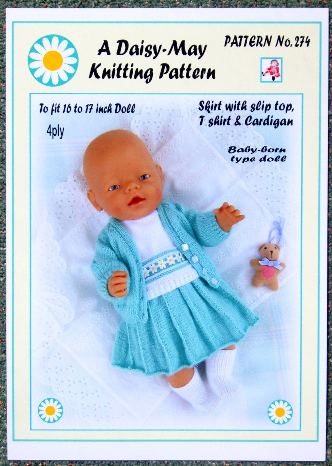 Modern Upsy Daisy Knitting Pattern Ensign - Sewing Pattern for ...